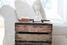 Pallets and Crates / Repurpose / by Suzette Brown