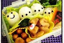 Bento Fun @ Home! / Some of my attempts at Bento-making at home. / by Kaye Sy-Catral