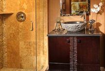 Bathroom ideas / by Pam Purbaugh