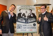 Jimmy Fallon in Conversation with Stephen Colbert at NJPAC / Official event photos from the Montclair Film Festival fundraiser, 'Jimmy Fallon in Conversation with Stephen Colbert – Best Friends Forever For One More Night' held on Sunday, November 24th at the New Jersey Performing Arts Center, New Jersey. (http://bit.ly/H09ZjD) / by Colbert News Hub