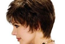 Short hairstyles / by Lindee Miller Goodall