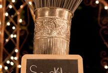Wedding Reception  / centerpieces, lighting, seating, table numbers, place cards, etc.  / by Alysha Wilkins