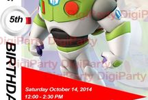 Disney Infinity Heroes 2.0 / Digital birthday invitations / by DigiParty
