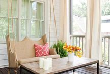 Outdoor Living / Ideas for sitting pretty in the great outdoors. / by Ruth