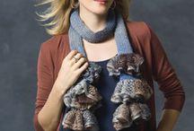 knitting and crocheting / by Kristen Kanoski