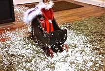 Elf on the shelf  / Coming soon to the sanders home!  / by Celeste Neal
