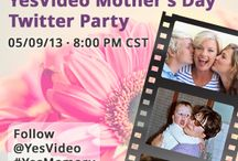 YesVideo Mother's Day Pin to Win / by Daniela Tapia