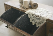 linen+lace+vintage / by Tabitha Bray