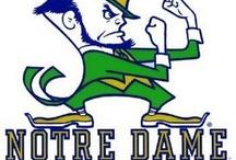 Notre Dame football! # we are ND  # fighting Irish / by Josie Gresham