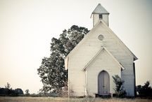 Churches / I am fond of churches, especially country churches and little chapels. / by Debby Reynolds