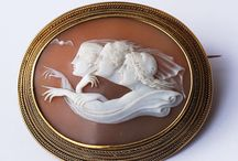 Cameos / All the coral, shell, ivory, glass and other carved portraits you adore / by Marcy