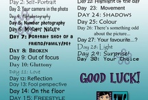 Photography Challenges / by Lori Wells