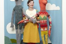 Giant Creatures / Donna Wilson Giant Creatures - each one of a kind!  / by Donna Wilson