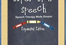 Speech Development / by Rita Muller