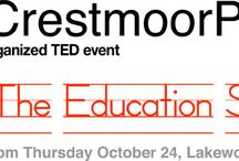 TEDxCrestmoorParkED: The Education Spark / Join Colorado Public Television for #TEDxCrestmoorParkED: The Education Spark. October 24 at the Lakewood Cultural Center, 2-5pm. Tickets available at http://bit.ly/18HWrl7. #playmatters #CPT12 / by Colorado Public TV