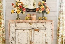 Decor: Shabby but nice / by Grim Cauldron Craft Oddities