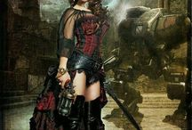 Steampunk and Cosplay ideas / by Luri Nahl