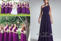 Bridesmaid Dresses / This board is for Christina and all of her bridesmaids to share ideas about dresses.  Christina prefers deep purple, floor length dresses and we are trying to keep them reasonably priced.  I haven't spoken to all of the bridesmaids yet, but once I do, everyone will be invited to join / by Roseanne D'Ambrose
