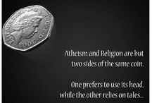 Religion - Atheism  / by Andrea Bennett
