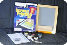 Screen Printing  / by Jacquard Products