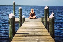 I love docks! / Take some time to sit on a dock! / by Nancy Courter