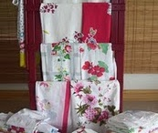 vintage tablecloths / by Sallie