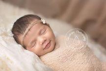 newborn headbands / by Victoria Prince