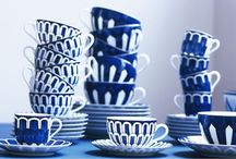 Blue and White / by Carolyn Schilling