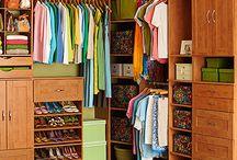 Closet organization / by Amanda Burk