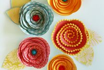 Crafty Flowers! / by My Cake School