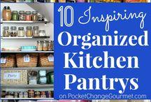 Organization - Kitchen / by Barbie Swihart