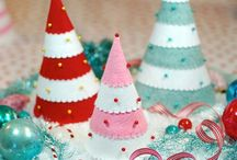 Christmas Decorating DIY crafts / by Ashley Boh
