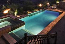 Pool Lighting / by PoolSpaOutdoor.com
