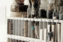 storage & organization ideas / by Ravynka ←