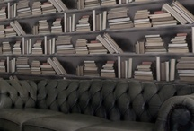 Books and places to keep books / by Steve Slack