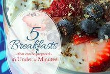 Breakfasts / by Yessenia Rodriguez