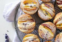 Food - breads muffins rolls pizza / by Kitty Ann