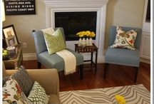 Home - Living Room Ideas / by Heather McKanna