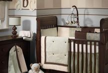 """Shared Nursery, 2 boys / help...I've got less than 5 weeks to turn Uly's room into a shared space for Lincoln and Uly...the colors are brown and blue and we're still deciding between getting a 2nd crib or a toddler bed...if you come accross anything cute, """"pin me"""" :)  / by Tiffany Abrahms"""