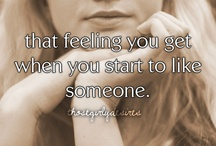 That Feeling You Get.... / by Halle Meckl