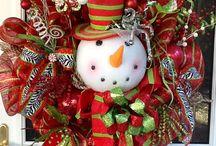 Christmas - Wreaths/Sprays/Trees / by Debra Shaw