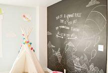 kids playroom / by Christina Hewlette