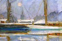 Deauville par Pierre Bonnard / by deauville