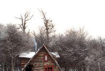 Homesteads & Small Homes / Small houses and farms.  / by Catskill Native Nursery
