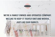 #WeAreFabrics / #WeAreFabrics / by Art Gallery Fabrics