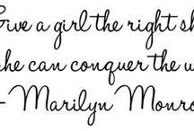 Marilyn-O-My! / by Amanda Larson