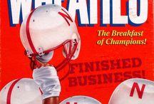 Nebraska Cornhuskers!! Go Big Red.  / by Barbara Weintz