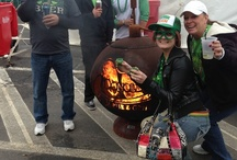 O'Donold's Irish Pub Custom Fire Globe™ / Ohio Flame custom FIre Globe™ for O'Donold's Irish Pub & Grill's 2012 St. Patrick's Day Party in Austintown, OH.  Over 70,000 people came out to celebrate this year. / by Ohio Flame