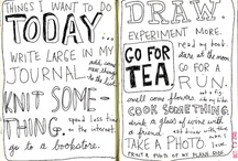 Creative Journal Pages / by Suzy Kluthe