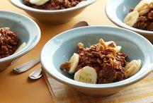 Food: Breakfast: Oatmeal / by Char Gust